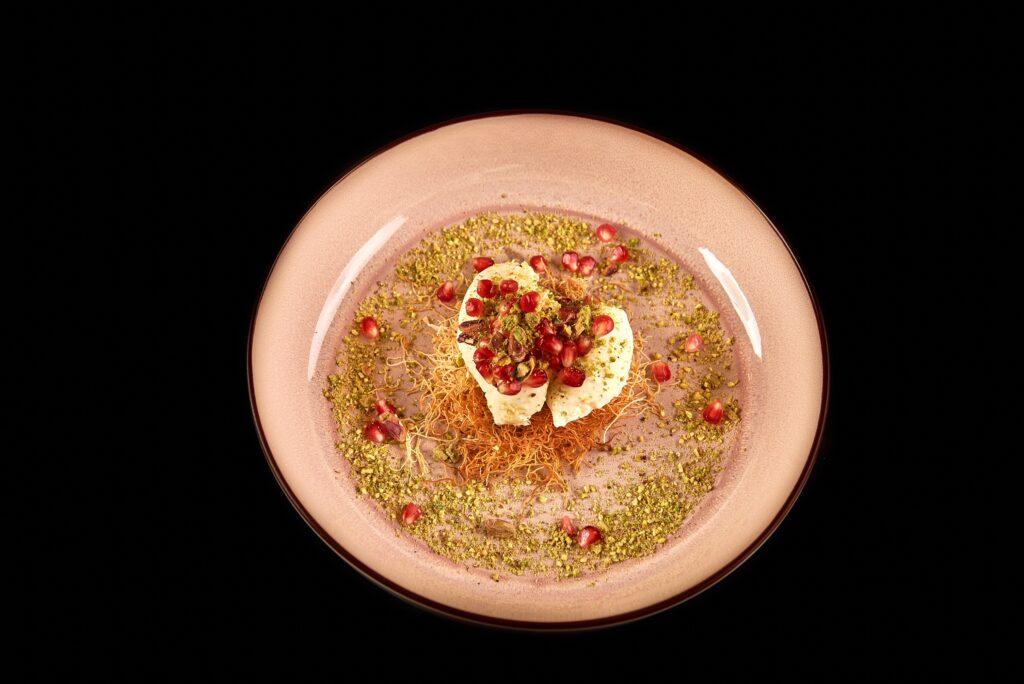 Kataifi cheesecake